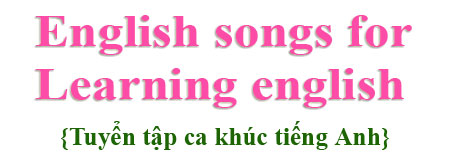 English songs for learning english